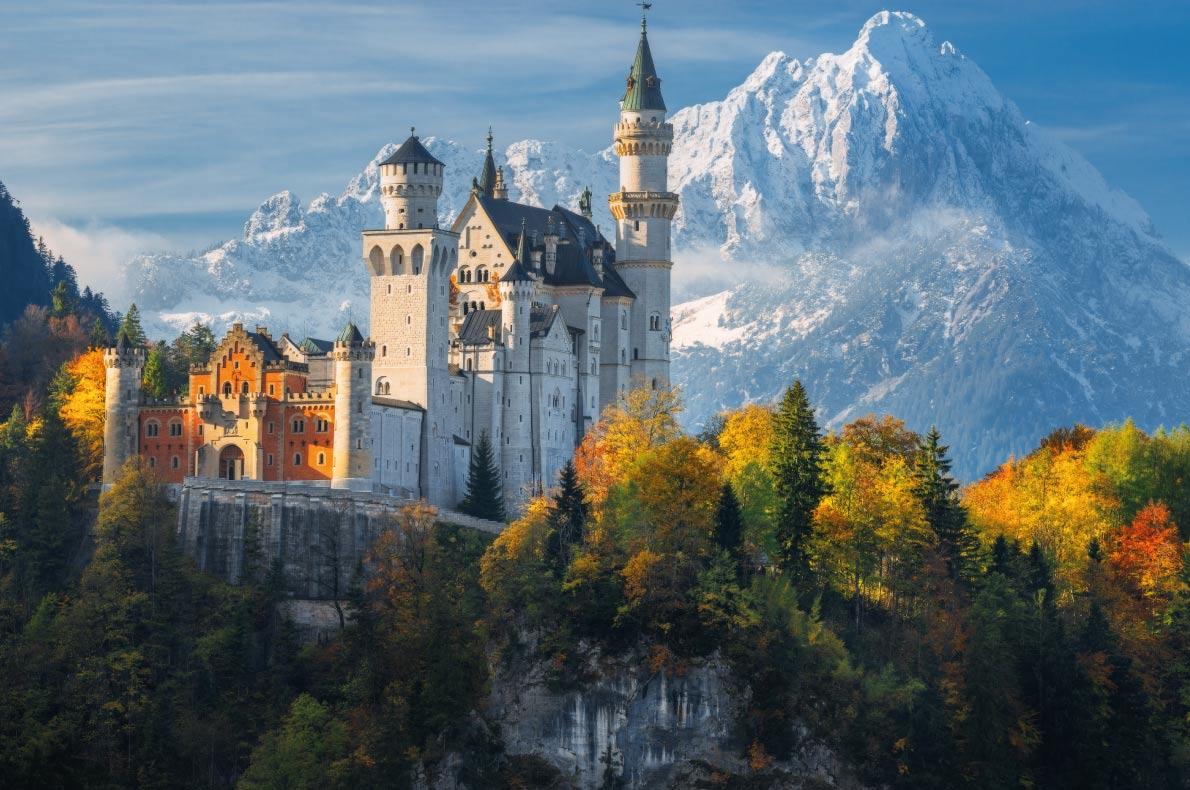 Neuschwanstein Castle - Best Fairytales destinations in Europe - Copyright Naumenko Aleksandr- European Best Destinations