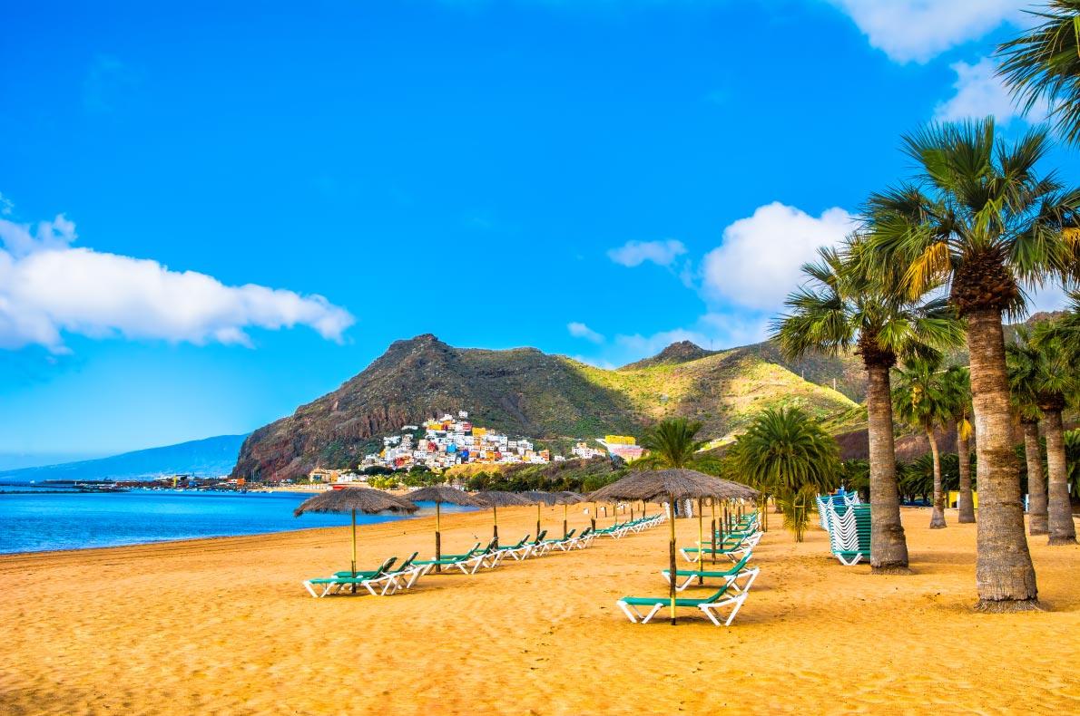 Best beaches in Spain - Las Teresitas  Copyright Olena Tur - European Best Destinations