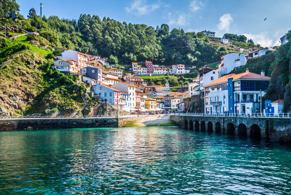 Asturias Cudillero Spain  - Best places to get retired in Europe - Copyright Lukasz Janyst - European Best Destinations