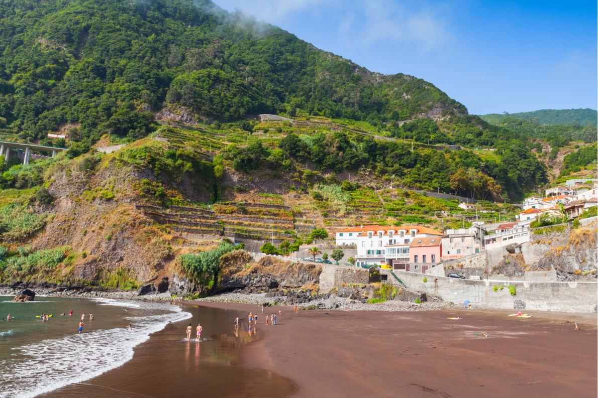 Madeira for nature lovers - Seixal Beach copyright Evannovostro