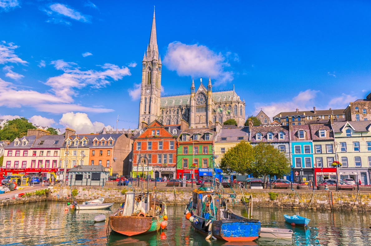 Best places to visit in Ireland - Cobh- Copyright Riekelt-Hakvoort-Shutterstock - European Best Destinations