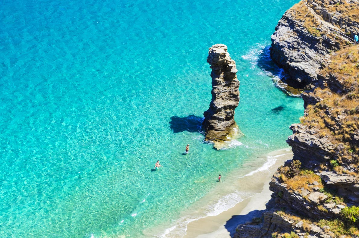 Best beaches in Greece - Pidima Beach copyright leoks   - European Best Destinations