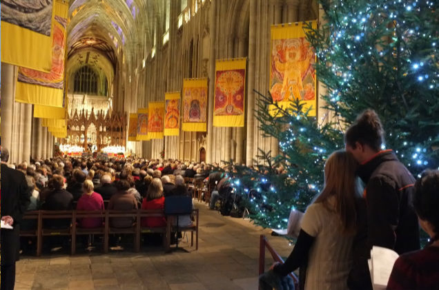 Winchester Cathedral's Christmas Market