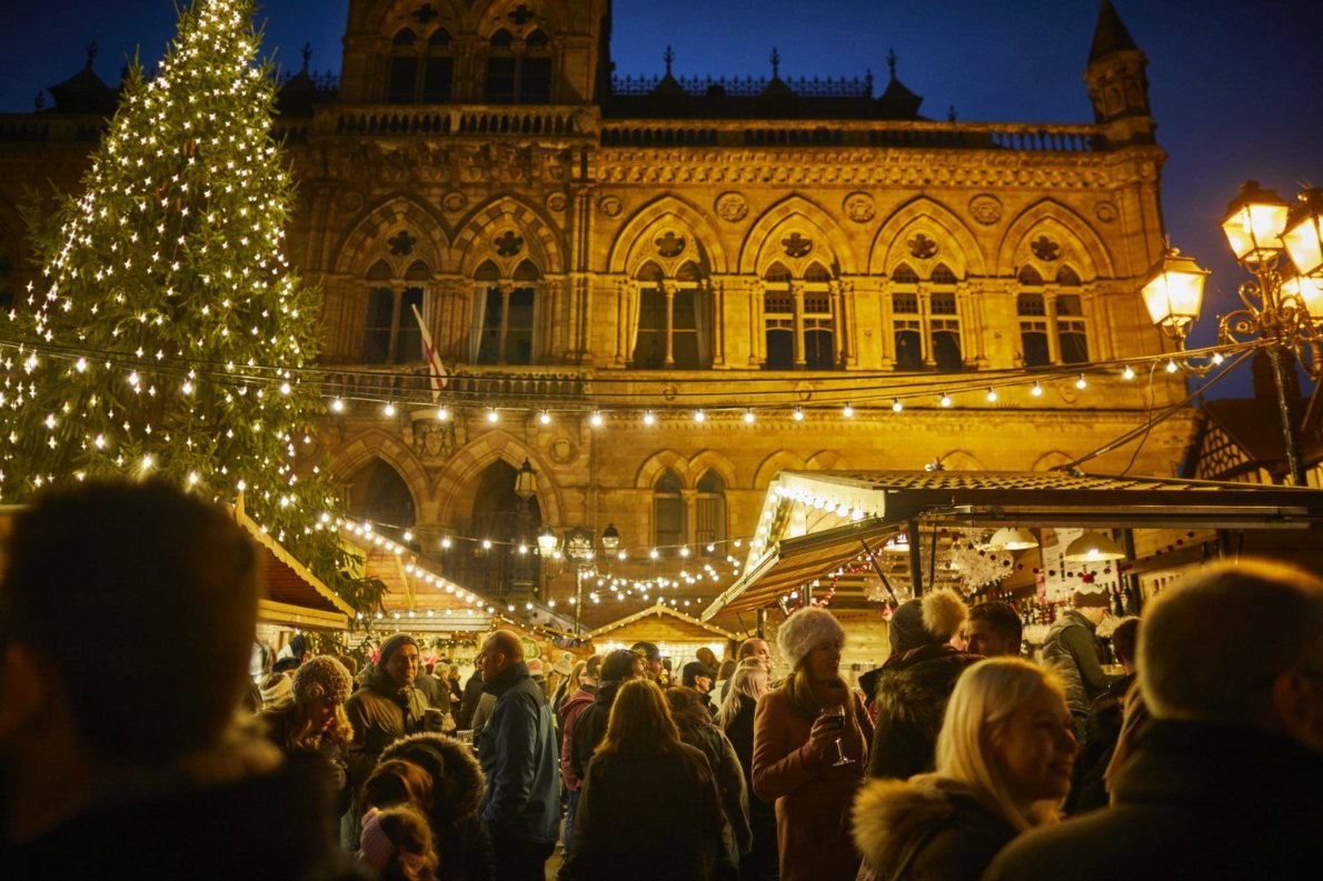 Best Christmas Markets in the United Kingdom - Chester Christmas Market -  European Best Destinations