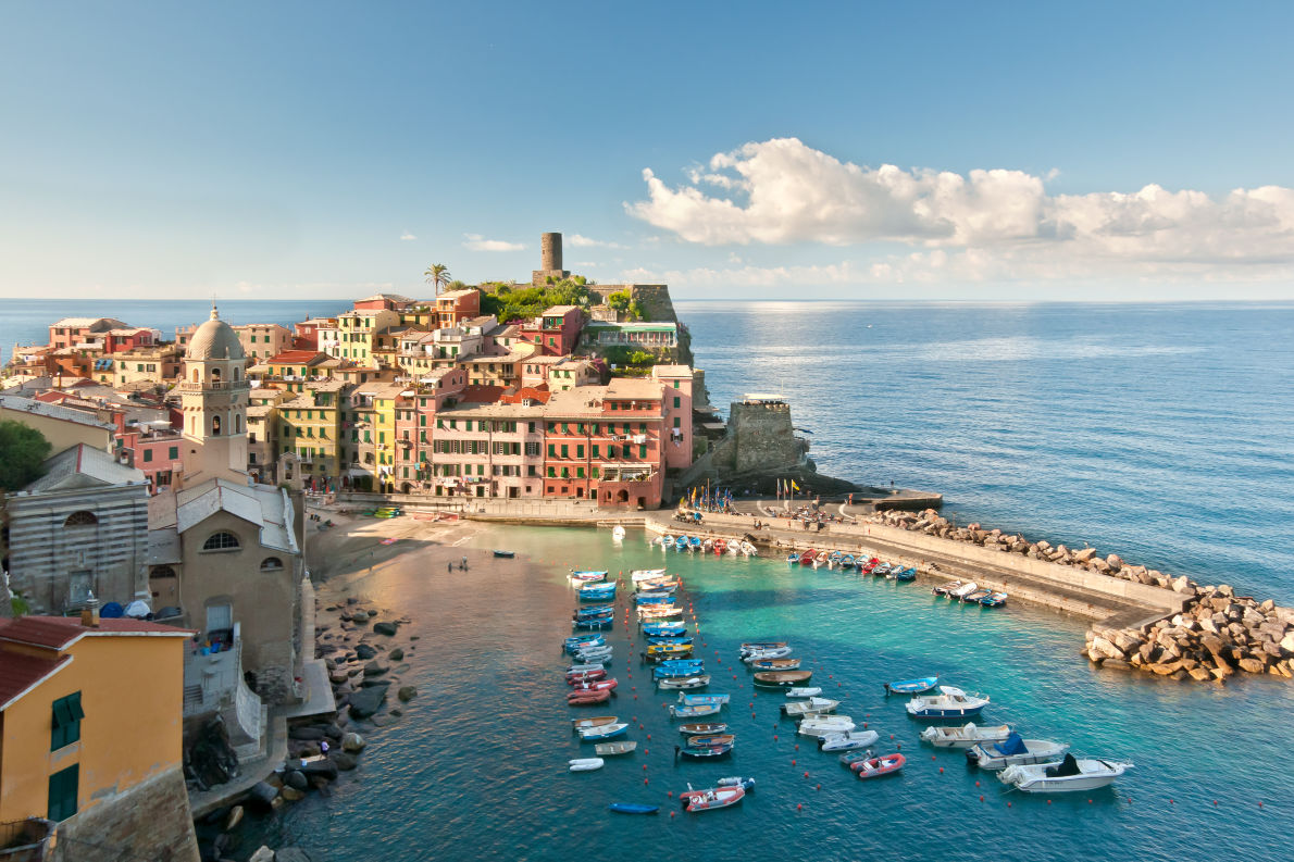 Best places to visit in Italy - Vernazza in Cinque Terre - Copyright grafalex- European Best Destinations