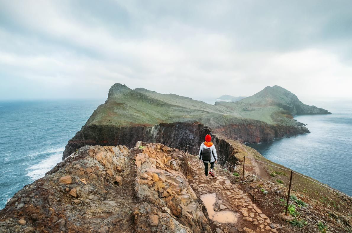 Best Instagrammable places in Madeira -  Ponta de Sao Lourenço - copyright Soloviova Liudmyla