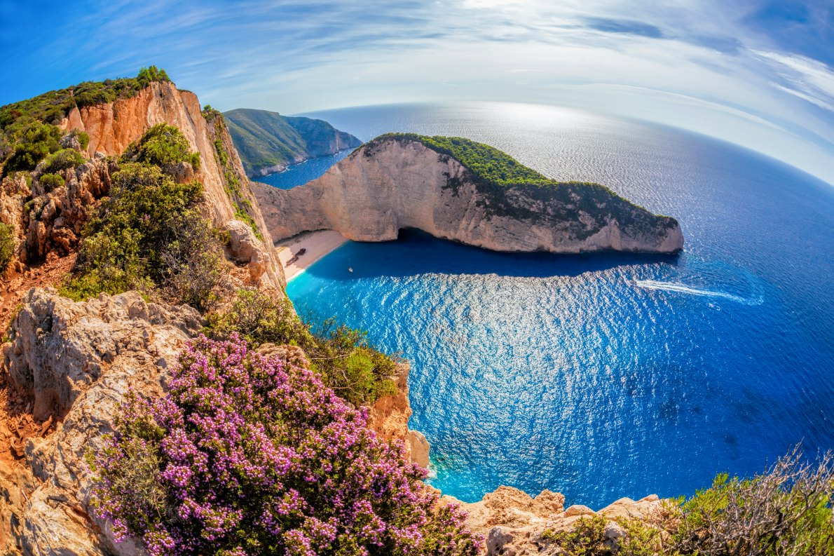 Best places to visit in Greece - Schmugglerbucht on Zakynthos Island - Copyright Samot -   European Best Destinations