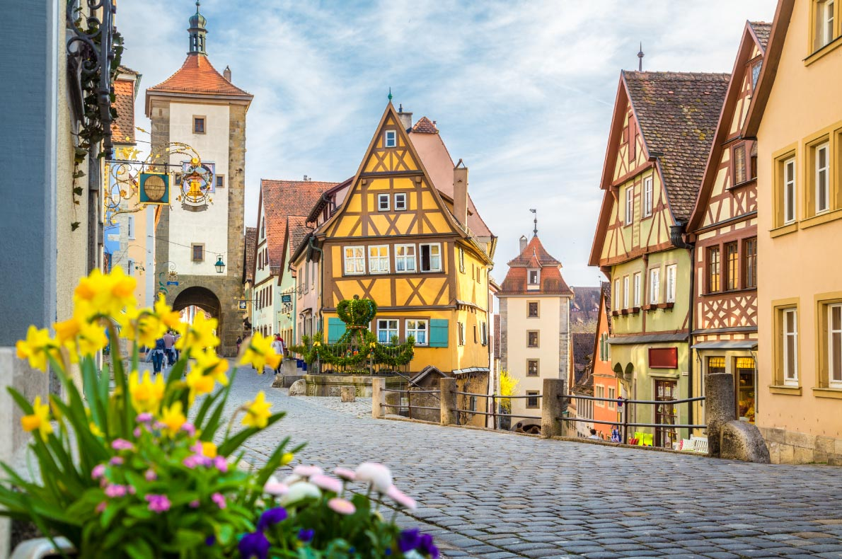 Most romantic destinations for Valentine day in Europe - Rothenburg ob der Tauber - Copyright Canadastock  - European Best Destinations