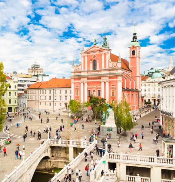 Ljubljana-romantic-destination-Slovenia