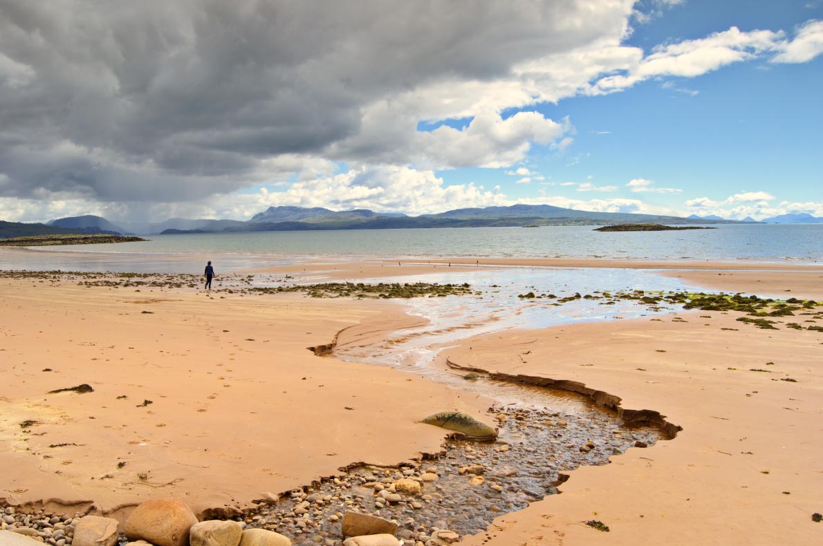 Best beaches in Scotland - Redpoint beach copyright  Kevin Eaves - European Best Destinations