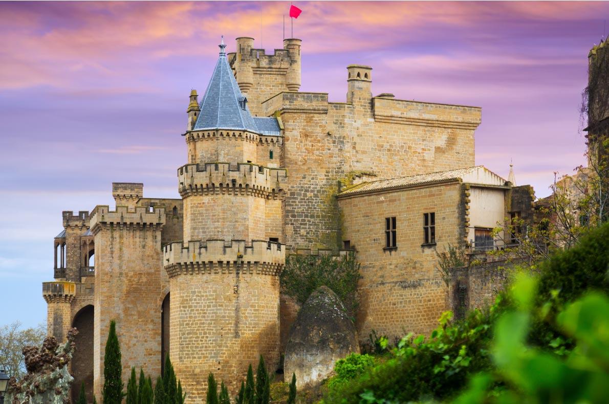 Best Castles in Spain - Olite Castle Copyright  Iakov Filimonov   - European Best Destinations