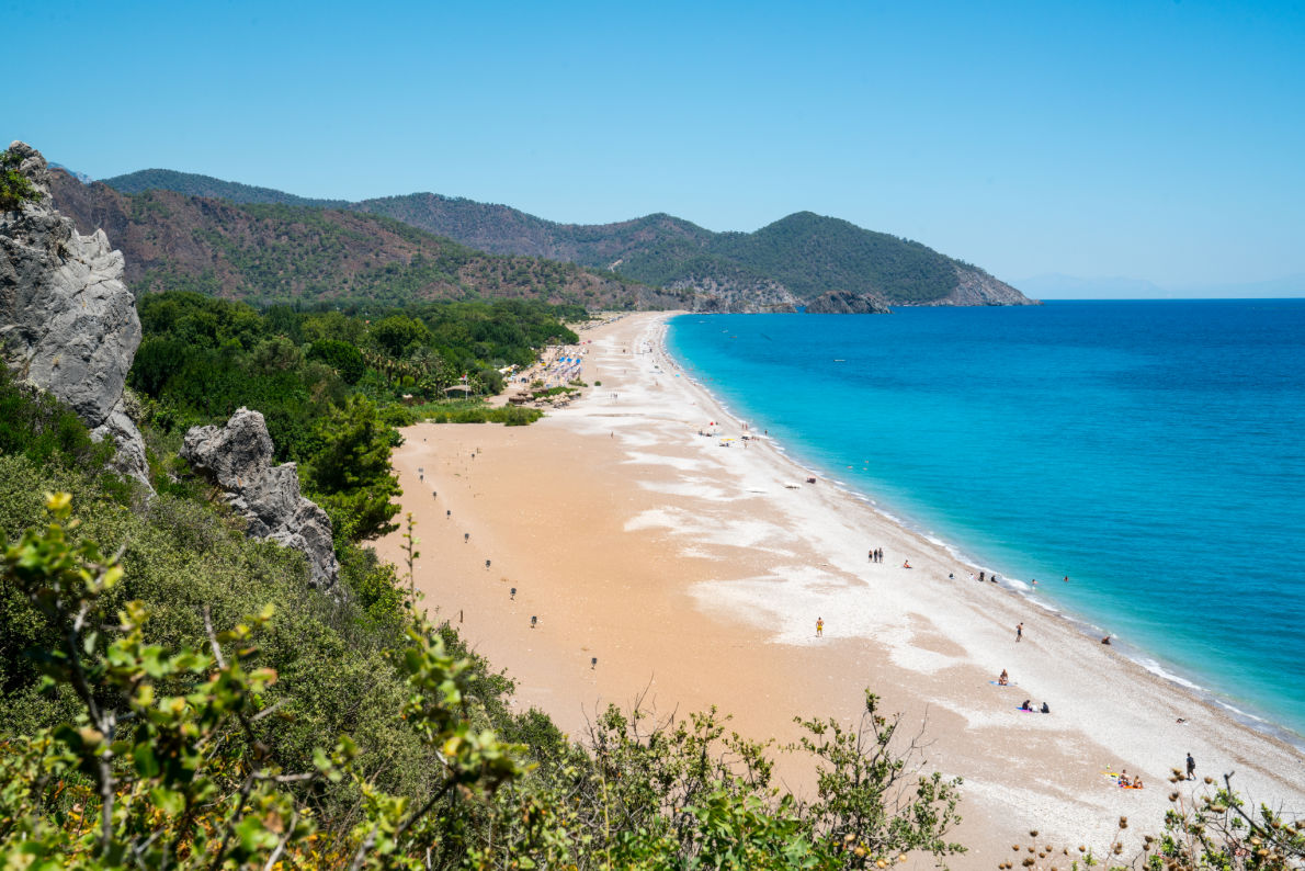 Safest and longuest beaches in Europe -  Olympos beach in Turkey - copyrightfotopanorama360 -  European Best Destinations