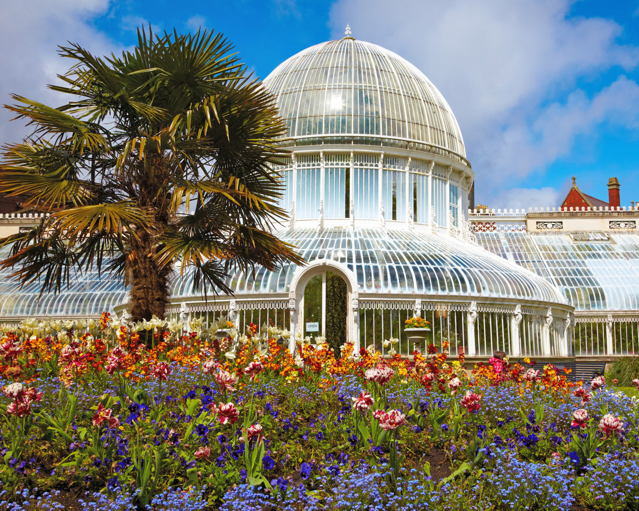 Botanical Garden Belfast - Best Green Houses in Europe - European Best Destinations Copyright Serg Zastavkin