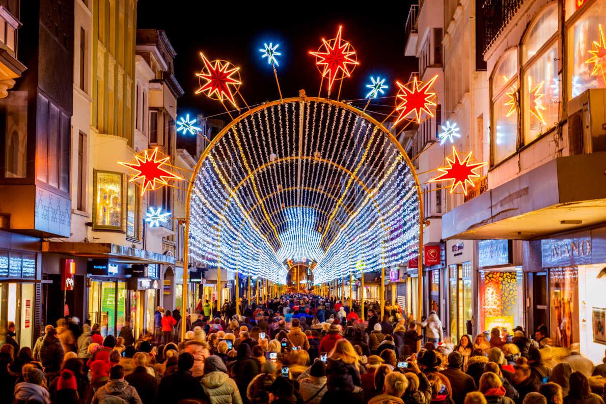 Best Christmas Markets in Belgium - Ostend Christmas Market Copyright Visit Ostend - European Best Destinations