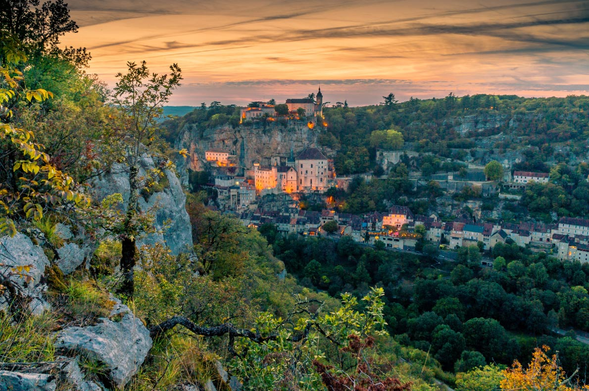 Best things to do in France - Dordogne valley - Rocamadour copyright Stephane Debove - European Best Destinations
