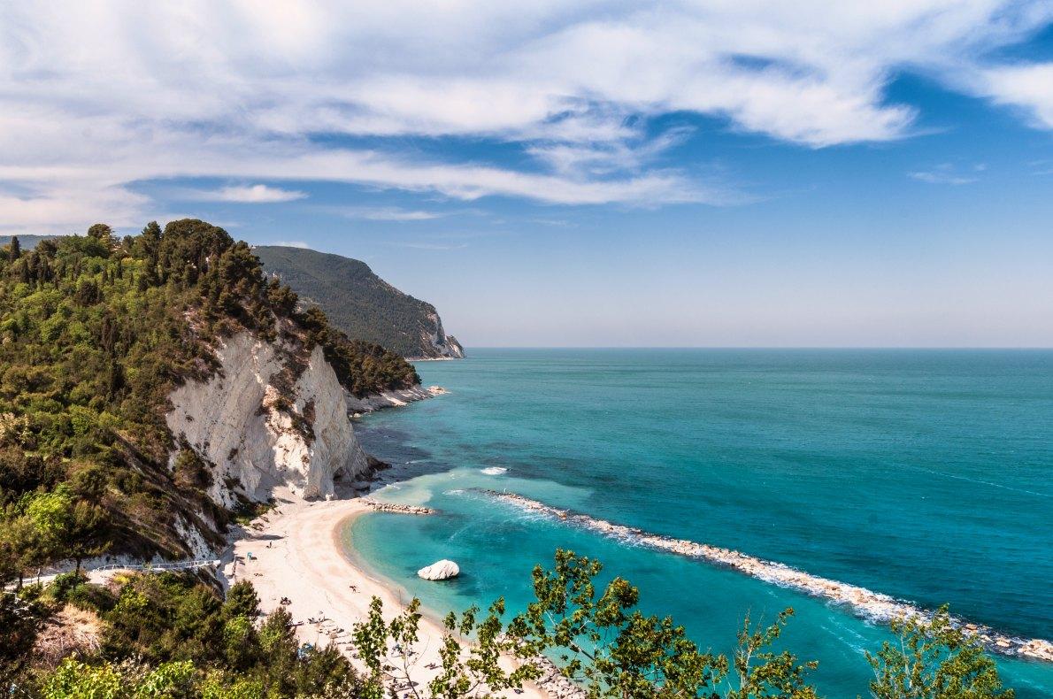 Best beaches in Italy - Numana beach Ancona Copyright  cristian ghisla   - European Best Destinations