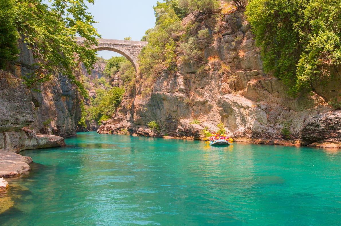 Best things to do in Turkey - Koprulu Canyon - Copyright muratart  - European Best Destinations
