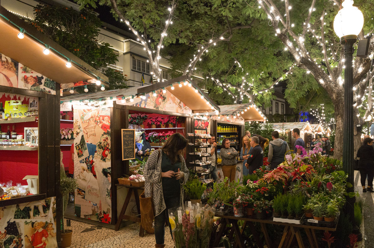 Best sunny Christmas Markets in Europe Funchal Christmas Market  - Copyright Cicero Castro - European Best Destinations