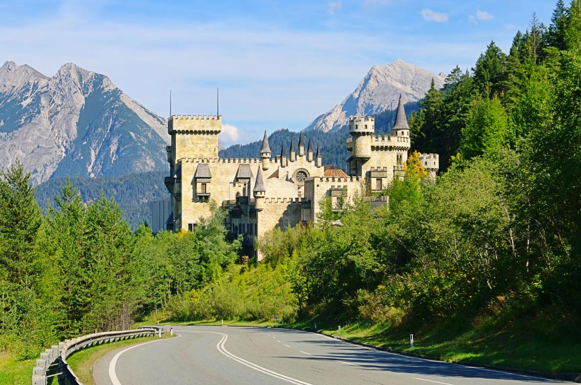 Best Castles in Austria - Seefeld Castle - Copyright LianeM - European Best Destinations