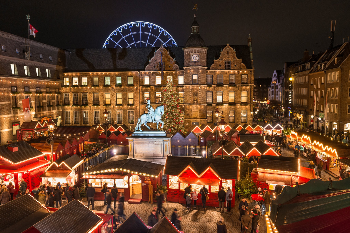 Best Christmas Markets in Germany -  Christmas in Dusseldorf- European Best Destinations