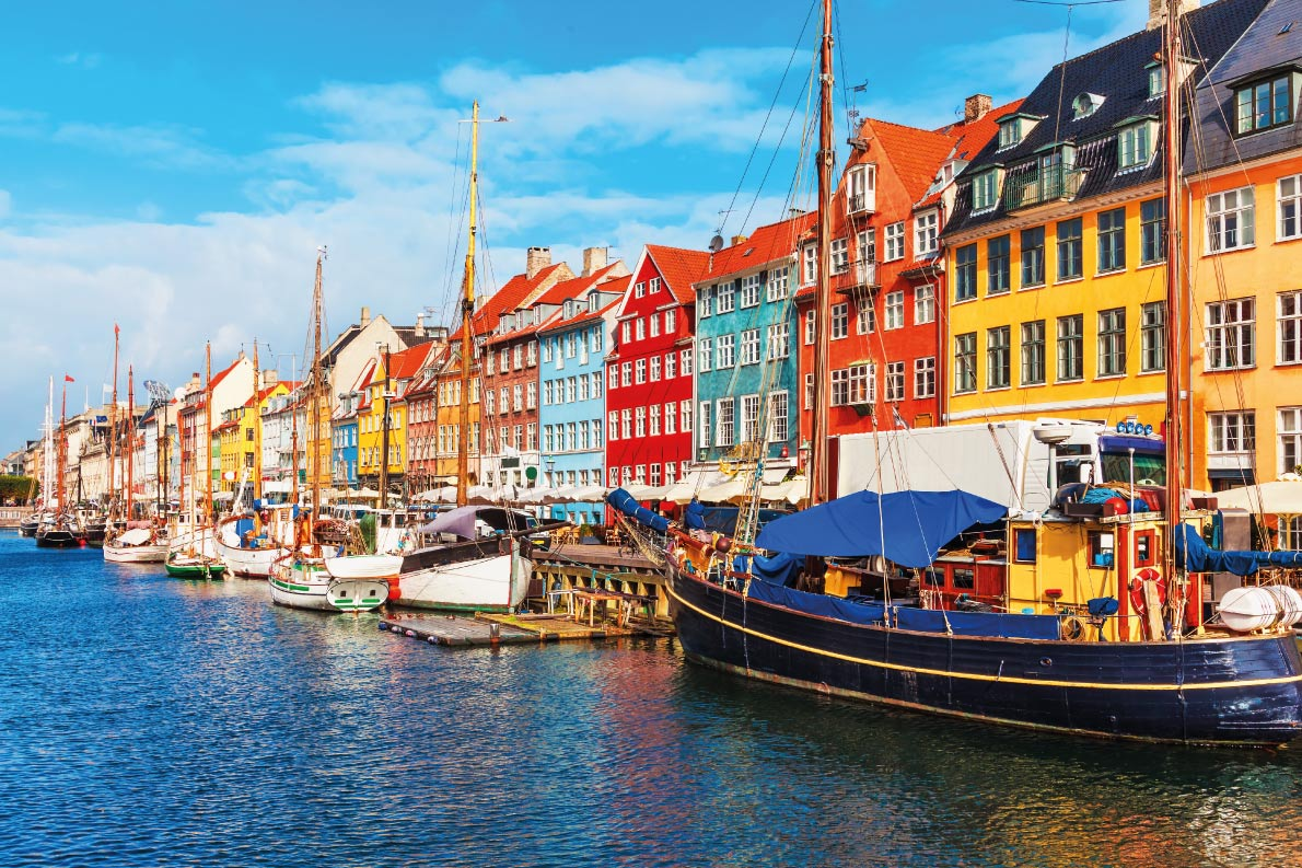 Colorful destinations in Europe - Copenhagen  - Best colorfull destinations in Europe - Copyright  Oleksiy Mark - European Best Destinations