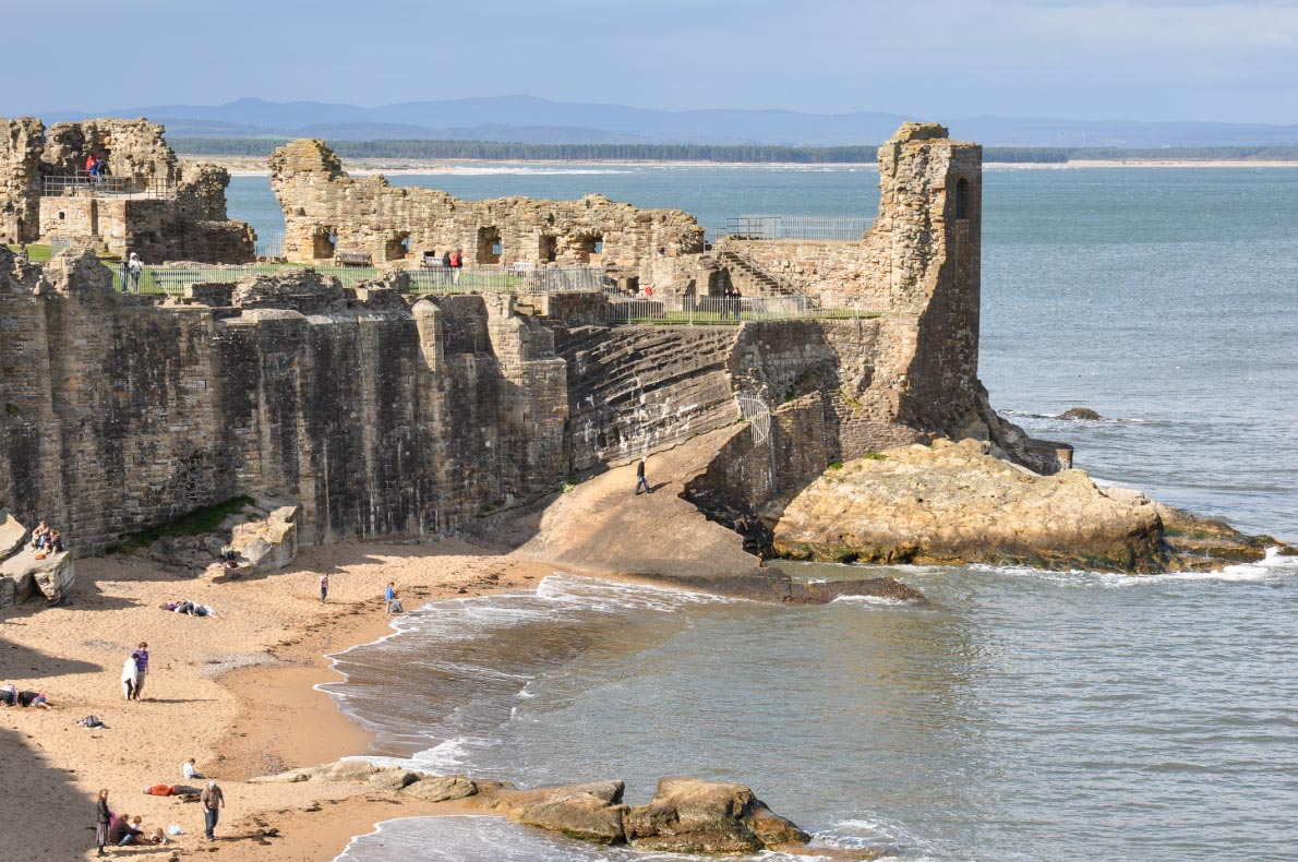 Best beaches in Scotland - St Andrews fife beach copyright  Peter Moulton - European Best Destinations