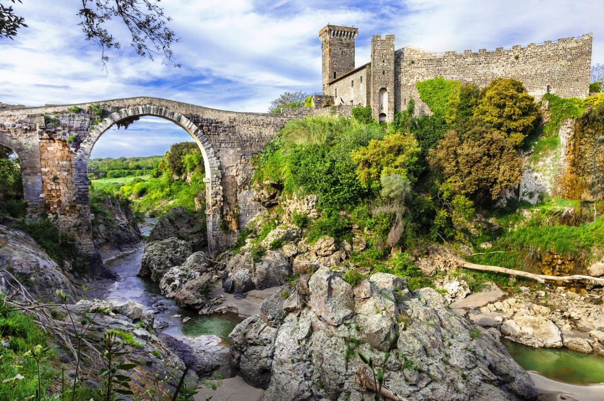 Best castles in italy - Vulci Castle Copyright  leoks - European Best Destinations