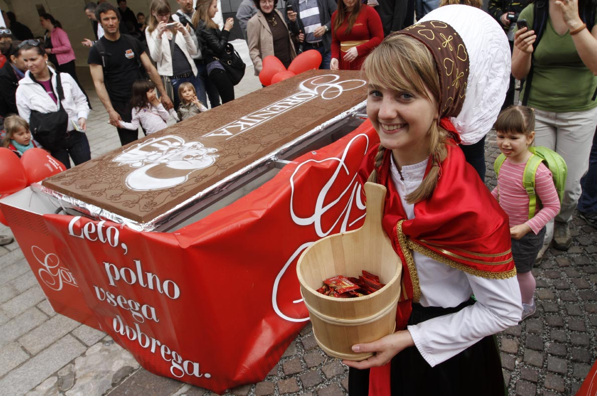 Best sustainable events in Europe - Radolca chocolate festival - Copyright  Slovenia.info - European Best Destinations