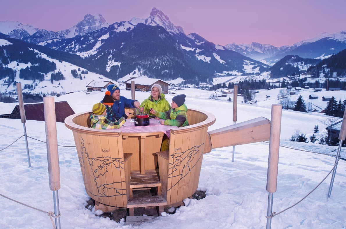 Most luxurious ski resorts in Europe - Gstaad - Copyright Gstaad Tourism Board  - European Best Destinations