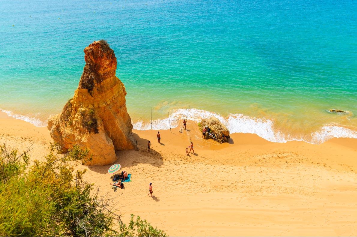 Best beaches in Portugal - Praia da Rocha Portimao Copyright  Pawel Kazmierczak   - European Best Destinations