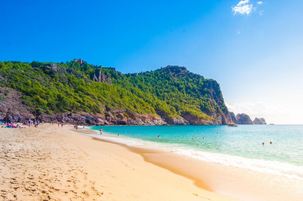 Best beaches in Turkey - Cleopatra beach in Alanya Copyright Romas_Photo - European Best Destinations