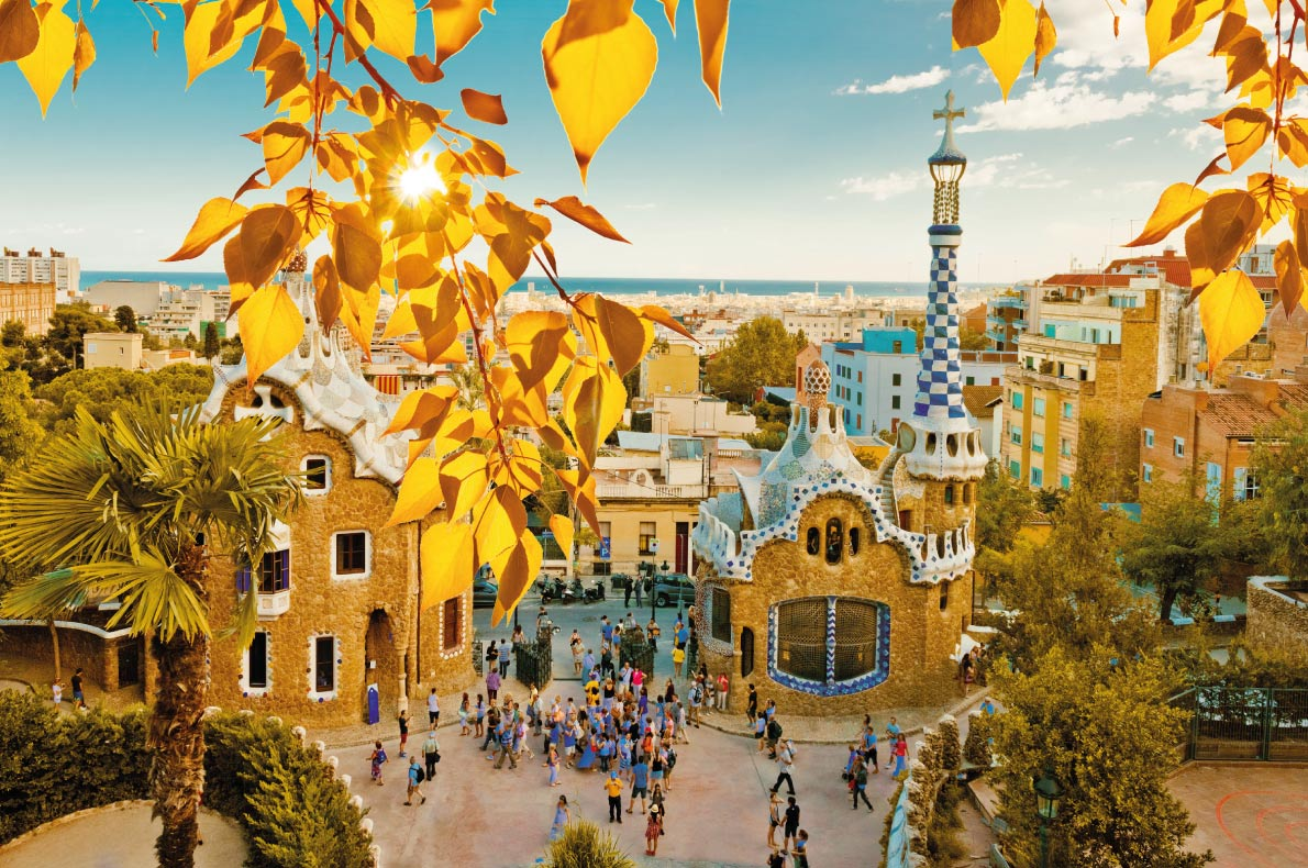 Barcelona - Best Destinations for fall Autumn in Europe - Copyright Valeri Potapova - European Best Destinations