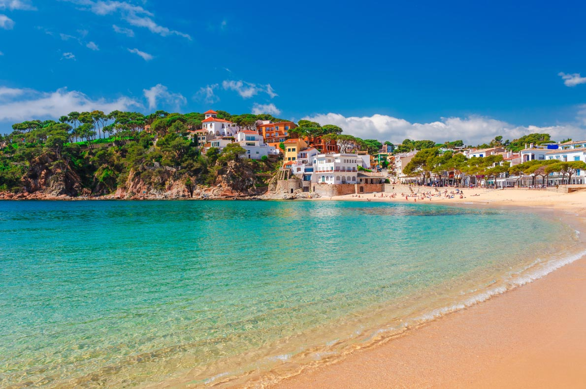 Best beaches in Spain - Sea landscape Llafranc near Calella de Palafrugell, Catalonia Copyright  Oleg_P   - European Best Destinations