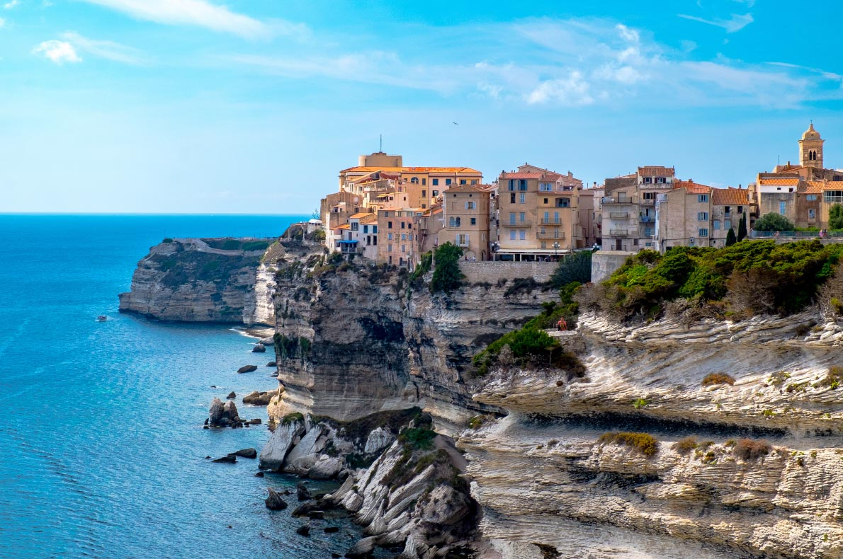 Best places to visit in France - Bonifacio Copyright  Andrea Sirri  - European Best Destinations