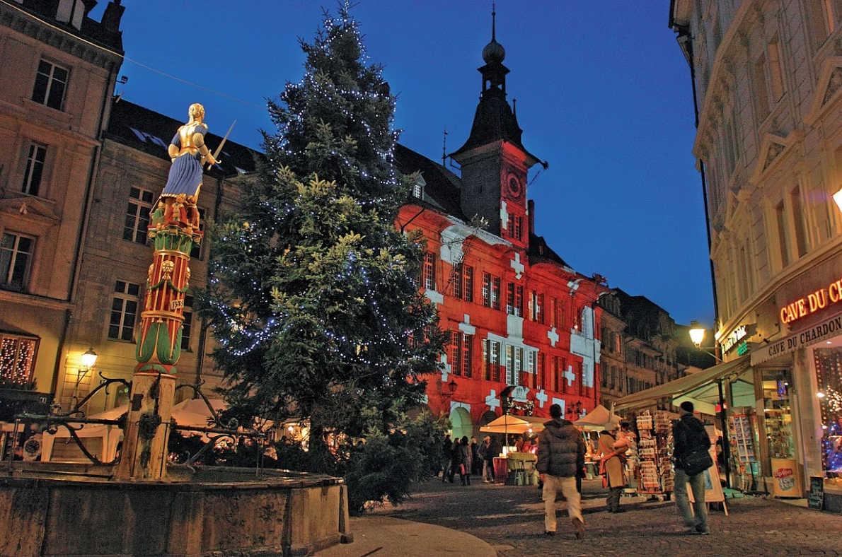 Best Christmas Markets in Switzerland - Lausanne Christmas Market - European Best Destinations