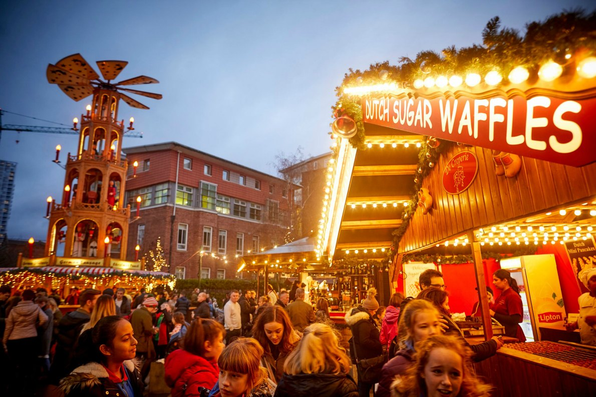 Best Christmas Markets in the UK  - Christmas in Manchester - Copyright Manchester City Council - European Best Destinations