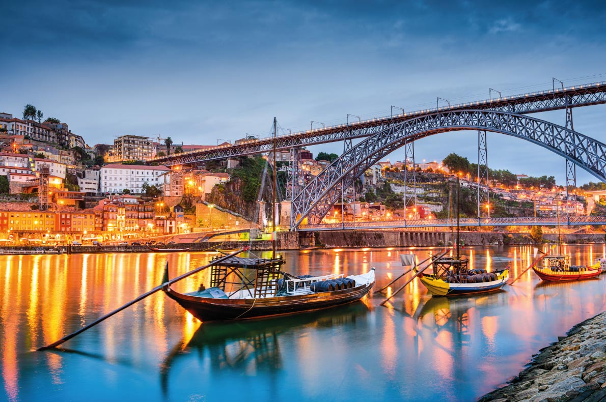 Porto - Best Destinations for fall Autumn in Europe - Copyright Sean Pavone - European Best Destinations
