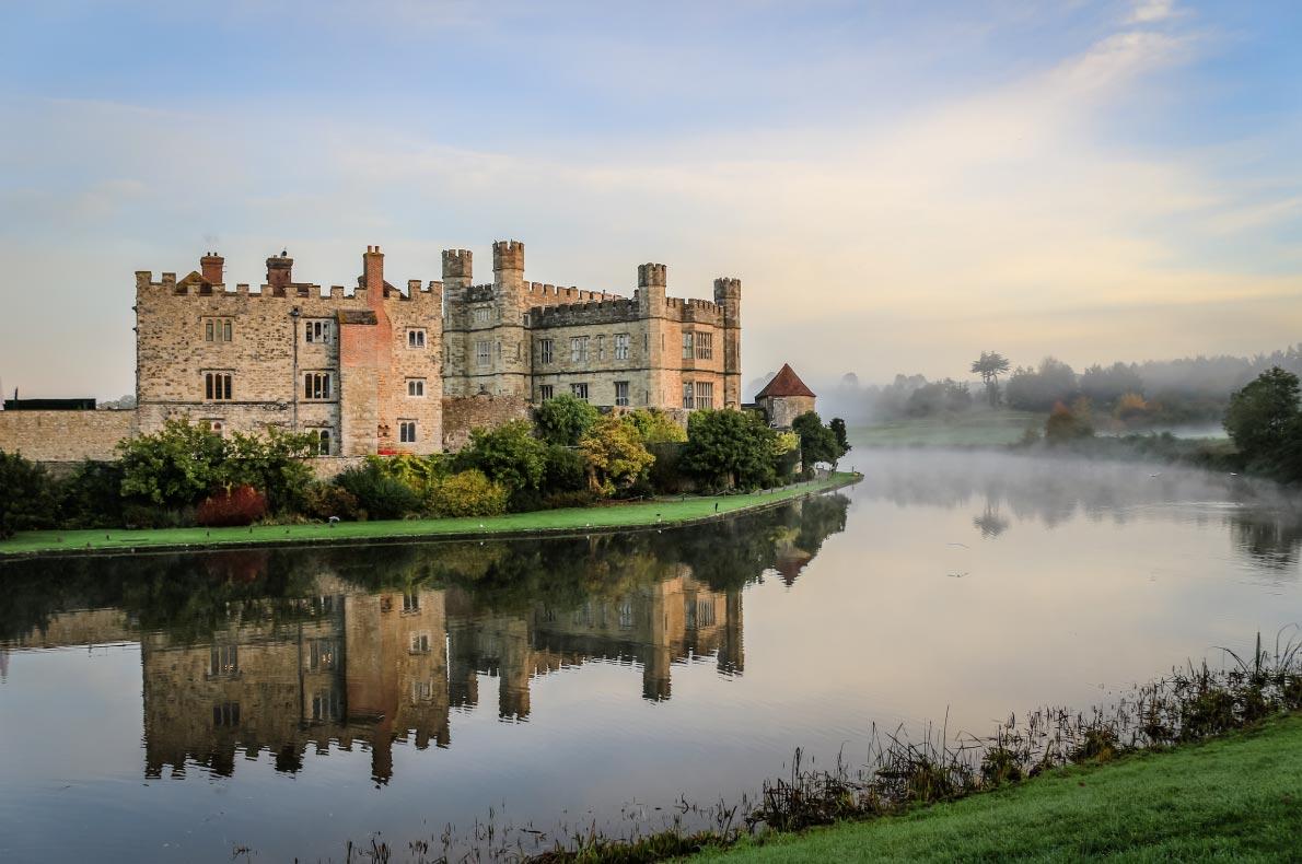 Best Castles in England - Leeds Castle Copyright  JuliaST