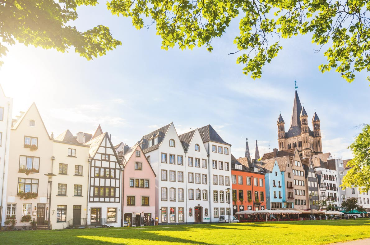 Quietest destinations in Europe -  Cologne Copyright  William Perugini