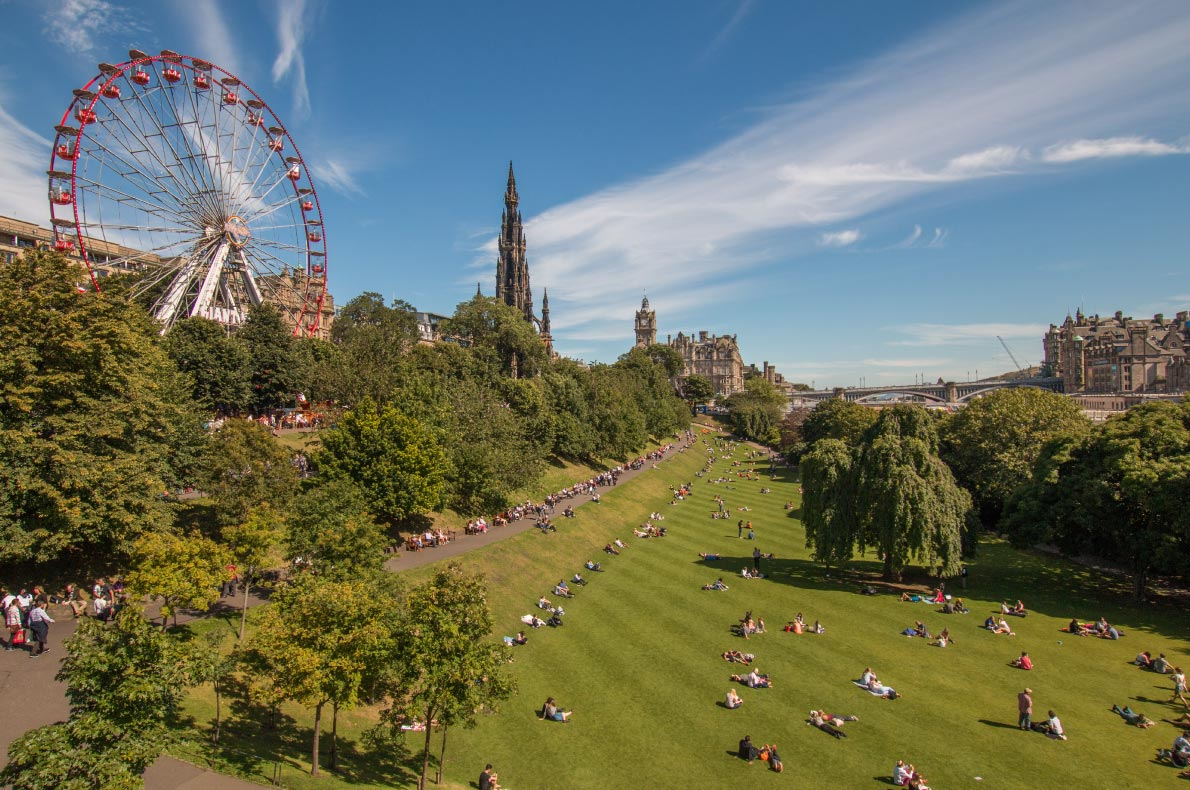 Best places to visit in Scotland - Edinburgh copyright Mary Doggett shutterstock   - European Best Destinations