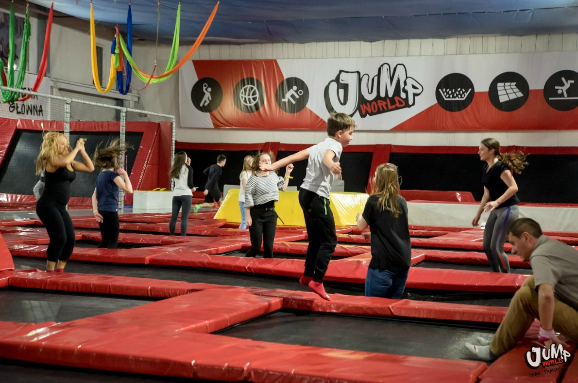 Best things to do with kids in Wroclaw - Jump World