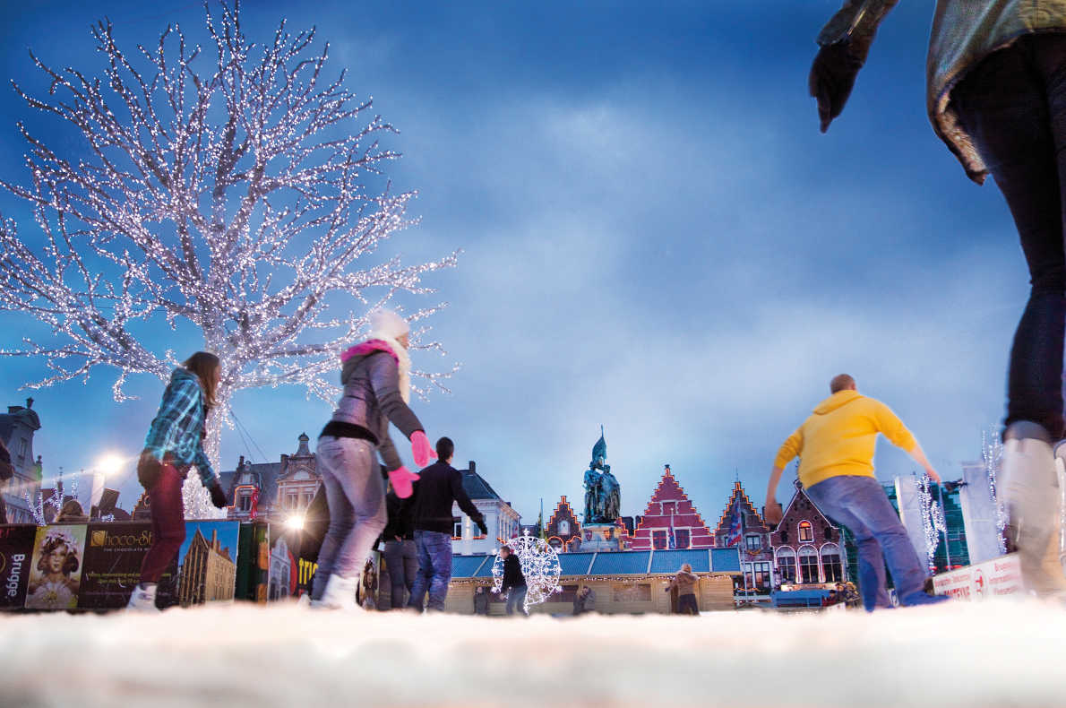 Bruges Christmas Market Copyright Jan D'Hondt  - European Best Destinations
