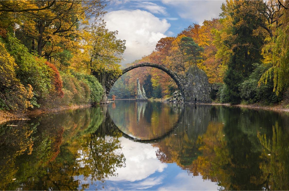 Best Natural Wonders in Germany - Devil's Bridge in Kromlau - Copyright Mike Mareen - European Best Destinations