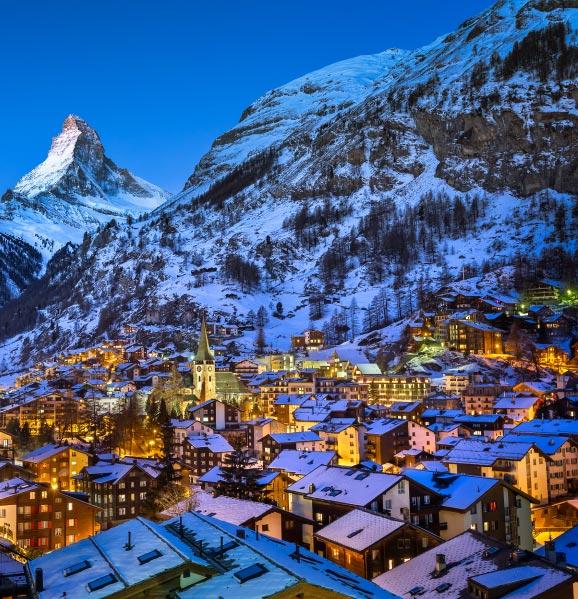 Zermatt Best Ski Resorts in Europe