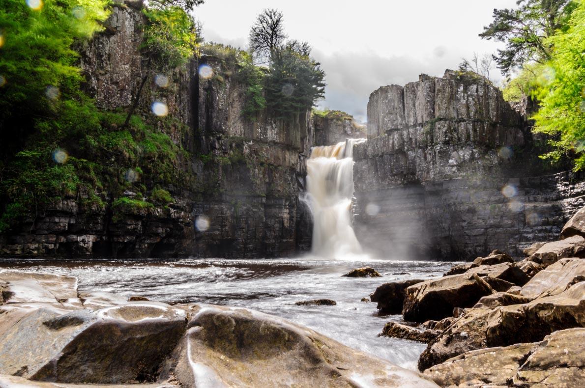 Best natural wonders in England - High force waterfall copyright  piya Sukchit  - European Best Destinations