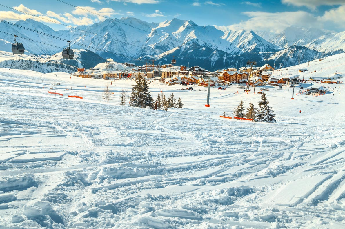 Best ski resorts in Europe - Alpe d'Huez - Copyright Gaspar Janos