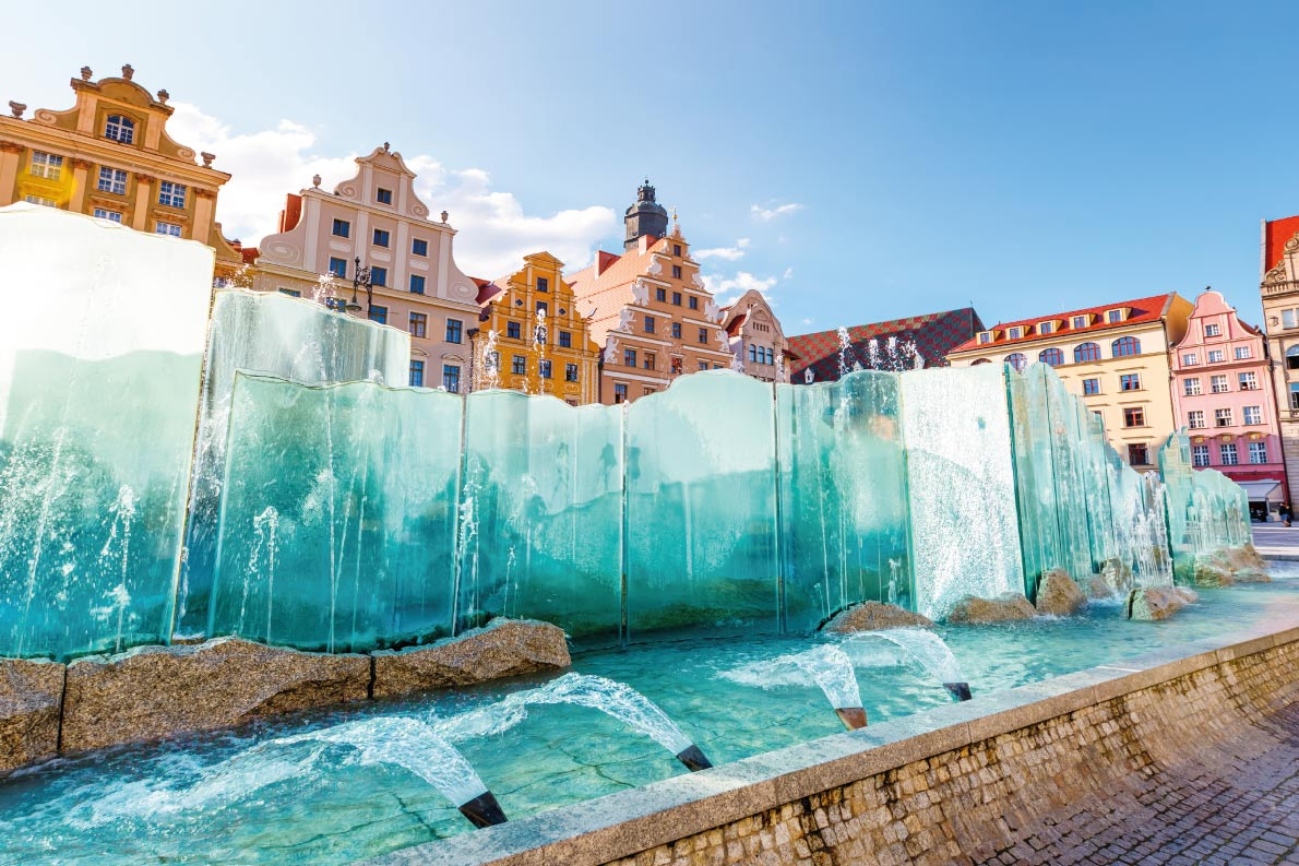 Best fountains in Europe  - Wroclaw Fountain Copyright  Creative Travel Projects - European Best Destinations