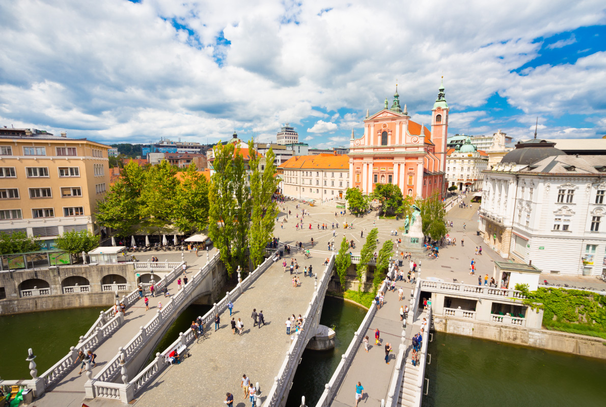 Ljubljana - Best accessibility destinations in Europe - Copyright Matej Kastelic - European Best Destinations