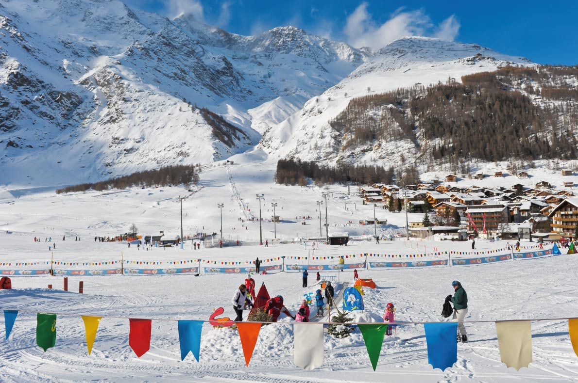 Best family ski resorts in Europe - Saas Fee - Copyright  Boris-B - European Best Destinations