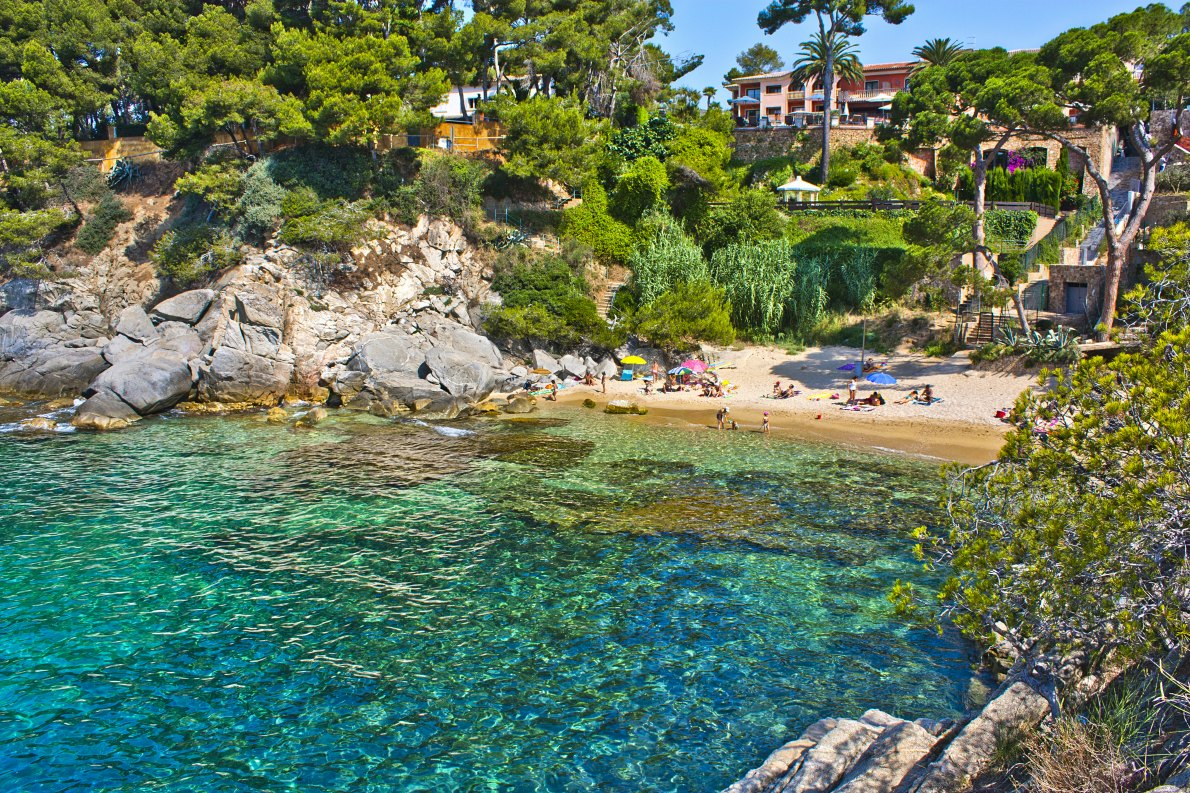 Best beaches in Europe - Cala del Pi en Platja d'Aro copyright Marques
